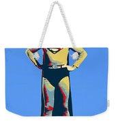 Blue Superman Weekender Tote Bag
