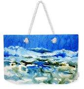 Blue Surf Weekender Tote Bag