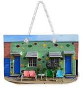 Blue Swallow Motel In Tucumcari In New Mexico Weekender Tote Bag