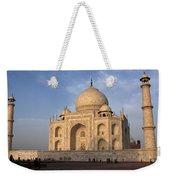 Taj Mahal In Evening Light Weekender Tote Bag