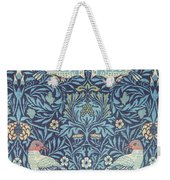 Blue Tapestry Weekender Tote Bag by William Morris