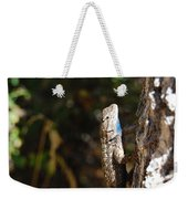 Blue Throated Lizard 2 Weekender Tote Bag