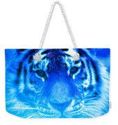 Blue Tiger Weekender Tote Bag