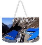 Blue Tin Roof Weekender Tote Bag