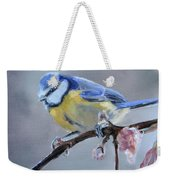 Blue Tit And Blossoms Weekender Tote Bag