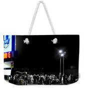 Blue Top Opening Night Weekender Tote Bag