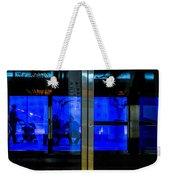 Blue Tram Windows Weekender Tote Bag