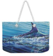 Blue Tranquility Off0051 Weekender Tote Bag by Carey Chen