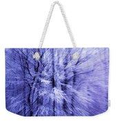 Blue Trees Weekender Tote Bag