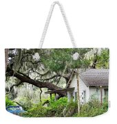 Blue Truck And Moss Weekender Tote Bag