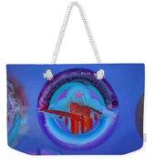 Blue Untitled Image Weekender Tote Bag