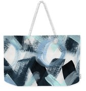 Blue Valentine- Abstract Painting Weekender Tote Bag