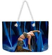 Blue Veils Weekender Tote Bag