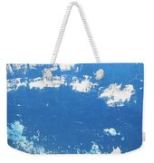 Blue Wall Weekender Tote Bag
