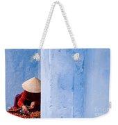 Blue Wall Hawker 01 Weekender Tote Bag