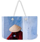 Blue Wall Hawker 02 Weekender Tote Bag