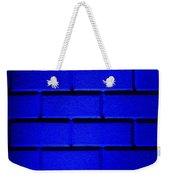 Blue Wall Weekender Tote Bag by Semmick Photo