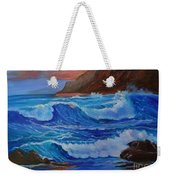 Blue Waves Hawaii Weekender Tote Bag