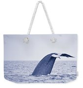 Blue Whale Tail Fluke With Remoras Weekender Tote Bag