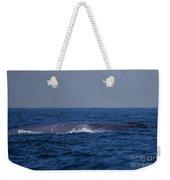 Blue Whale Weekender Tote Bag