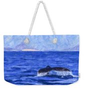 Blue Wilderness Weekender Tote Bag