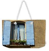Blue Window And Shutters Weekender Tote Bag
