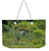 Blue Winged Heron 2013 Weekender Tote Bag