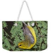 Blue-winged Warbler Weekender Tote Bag