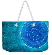 Blue World Original Painting Weekender Tote Bag