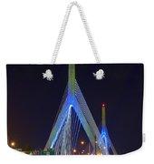 Blue Zakim Weekender Tote Bag by Joann Vitali