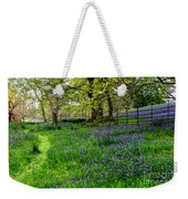 Bluebell Way Weekender Tote Bag