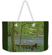 Bluebell Wood 1 Weekender Tote Bag