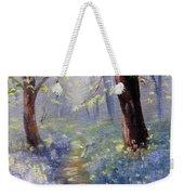 Bluebell Wood Weekender Tote Bag