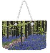 Bluebells In Beech Forest Weekender Tote Bag