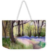 Bluebells At Dusk Weekender Tote Bag