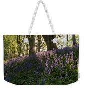 Bluebells Backlit Weekender Tote Bag