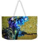 Bluebells In Water Splash Weekender Tote Bag