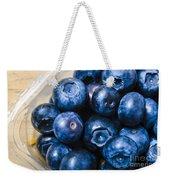 Blueberries Punnet Weekender Tote Bag
