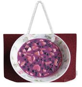 Blueberry And Banana Soup Weekender Tote Bag