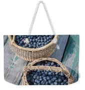 Blueberry Baskets Weekender Tote Bag