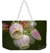 Blueberry Blossoms Weekender Tote Bag