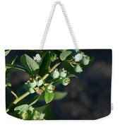 Blueberry Branch Weekender Tote Bag