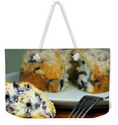 Blueberry Bundt Cake Weekender Tote Bag