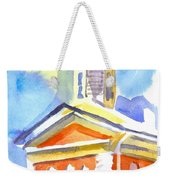 Blueberry Courthouse Weekender Tote Bag