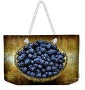 Blueberry Elegance Weekender Tote Bag by Andee Design