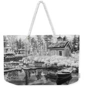 Blueberry Pond  Weekender Tote Bag