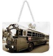 Bluebird Bus Limo 3 Weekender Tote Bag