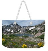 Bluebird Lake - Colorado Weekender Tote Bag