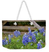 Bluebonnet Gate Weekender Tote Bag