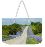 Bluebonnet Highway 2am-28667 Weekender Tote Bag